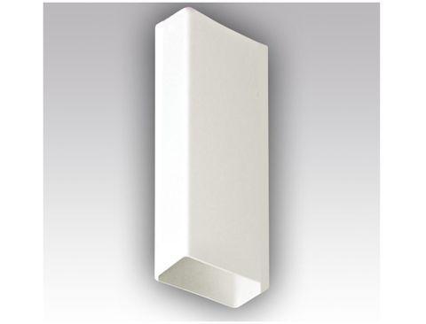 Воздуховод прямоугольный 220х55 0,5м пластиковый