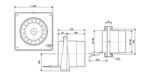 Вентилятор канальный S&P TDM 300