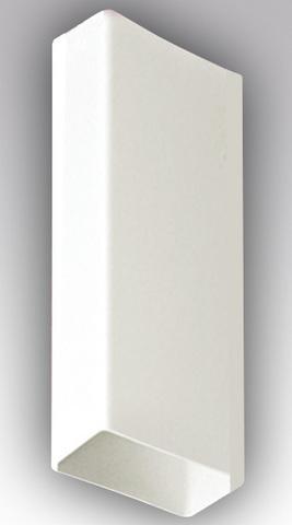 Воздуховод прямоугольный 204х60 2,5 м пластиковый