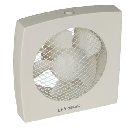 Вентилятор оконный Cata LHV 300 с гравитационными жалюзи