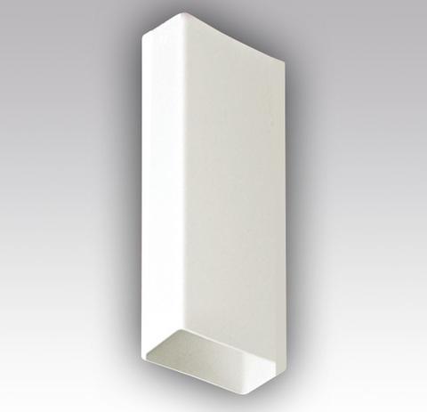 Воздуховод прямоугольный 110х55 1,0 м пластиковый