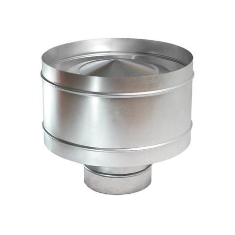 Дефлектор крышный D 125 мм оцинкованная сталь