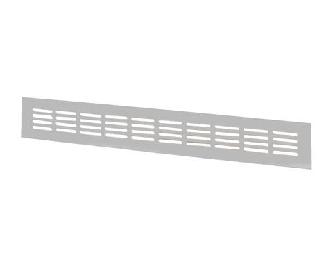Решетка Vents МВМА 400х80 мм Серебро