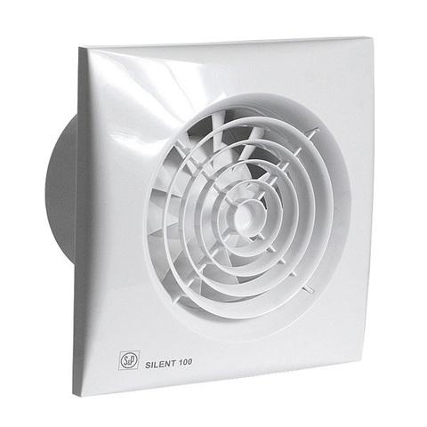 Вентилятор накладной S&P Silent 100 CHZ (таймер, датчик влажности)