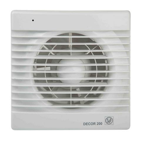 Вентилятор накладной S&P Decor 100 C