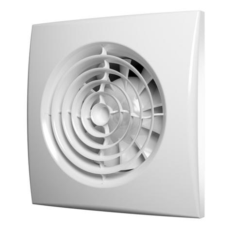 Вентилятор накладной Эра AURA 4C MRH D100 с обратным клапаном (таймер, датчик влажности)