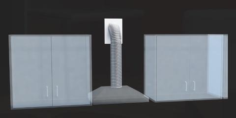 Вентиляционный набор d 120мм VK 120/4