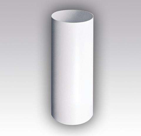 Воздуховод круглый 100 мм 0,5 м пластиковый