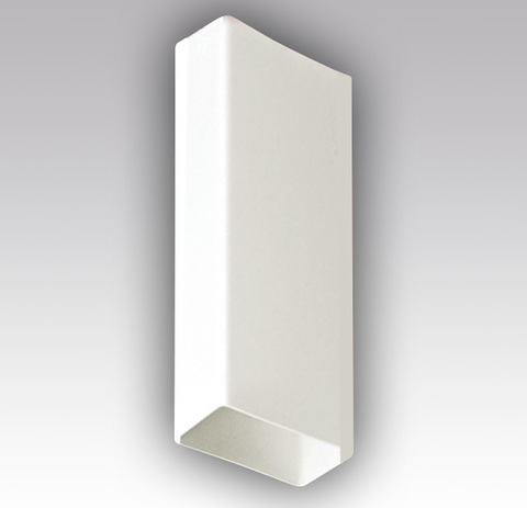 Воздуховод прямоугольный 204х60 0,5 м пластиковый