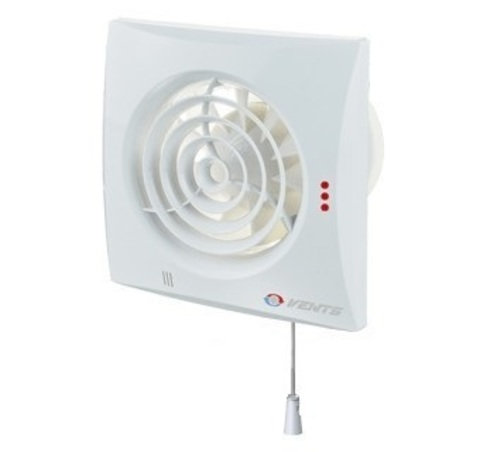 Вентилятор накладной Vents 100 Quiet V (со шнурком вкл/выкл)