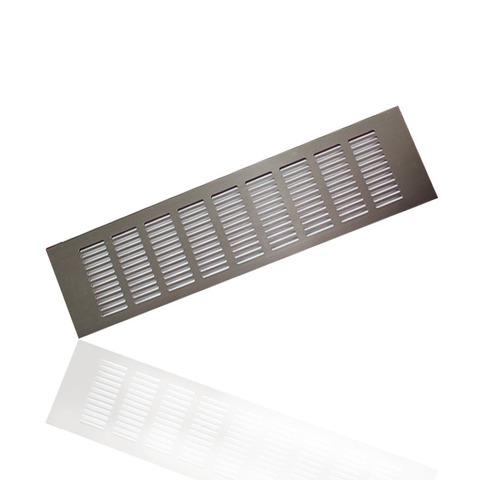 Решетка Europlast 80х500мм Коричневая RA850B