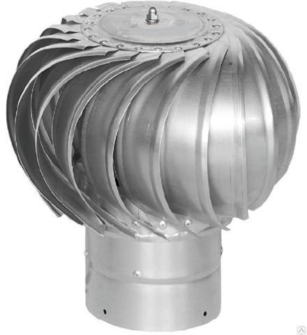 Турбодефлектор крышный ТД 200мм оцинкованный