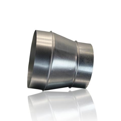 Переход 100х120 мм оцинкованная сталь