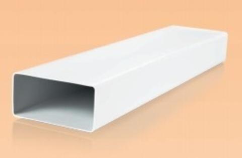 Воздуховод прямоугольный 220х90 0,5 м пластиковый