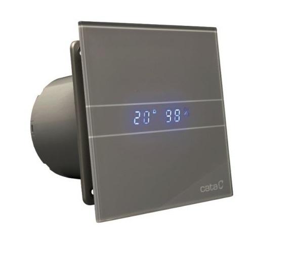 Накладные вентиляторы CATA серия G Вентилятор накладной Cata E 100 GSTH Серебро, с обратным клапаном (таймер, датчик влажности, термометр, дисплей) 6f7b36affa4a268120fbdcdae4e12673.jpg
