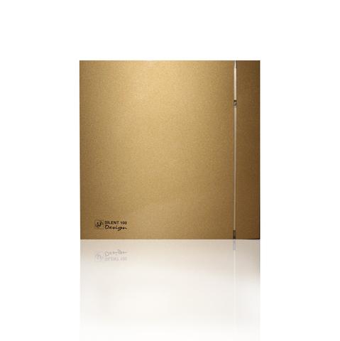 Вентилятор накладной S&P Silent 100 CRZ Design 4С Gold (таймер)