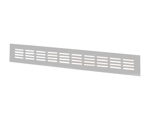 Решетка Vents МВМА 480х80 мм Серебро