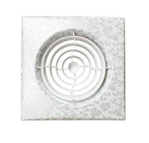 Вентилятор накладной Эра AURA 4C WHITE DESIGN D100 с обратным клапаном