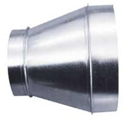 Переход 400х200 оцинкованная сталь