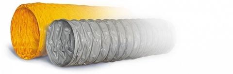 Воздуховод Tex PVC-F 300 d80мм (1м) из Полиэфирной ткани с пропиткой ПВХ