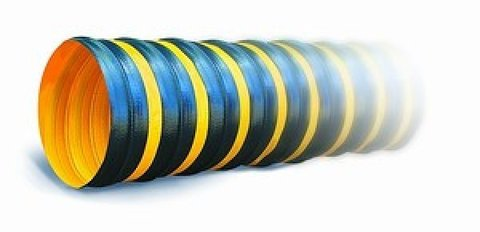 Воздуховод Tex PVC-F 300 d254мм (1м) из Полиэфирной ткани с пропиткой ПВХ
