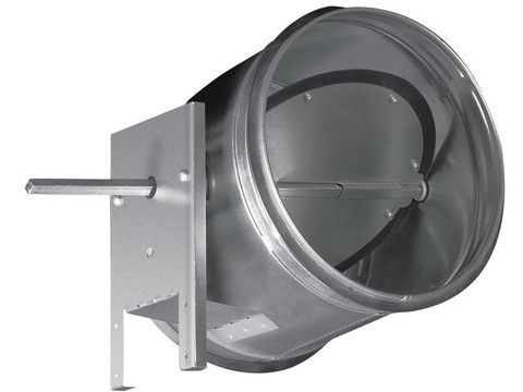Дроссель-клапан под электропривод ZSK 125 мм