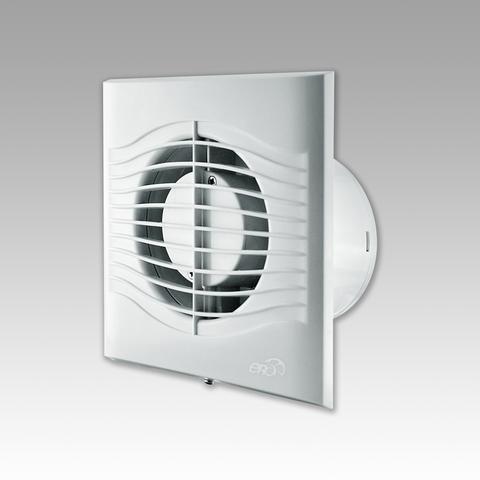Вентилятор накладной Эра SLIM 5-02 D125 со шнурком вкл/выкл