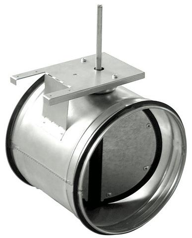 Дроссель-клапан под электропривод ZSK 160 мм