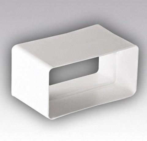 Соединитель-муфта 220х55 мм пластиковый