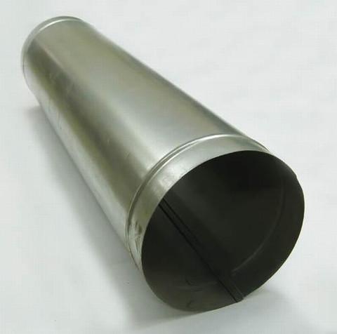 Труба прямошовная d 125 (1м) оцинкованная сталь
