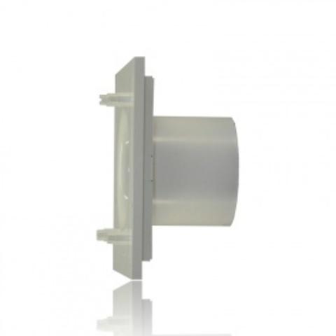 Вентилятор накладной S&P Silent 200 CRZ Design 4C Marble White (таймер)