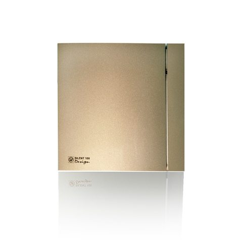 Вентилятор накладной S&P Silent 200 CRZ Design 4C Champagne (таймер)