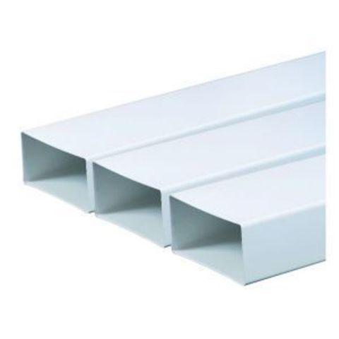 Воздуховод прямоугольный 150х75 1,0 м пластиковый