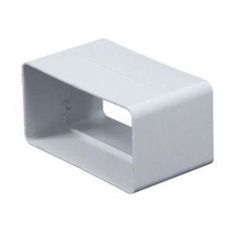 Соединитель-муфта 150х75 мм пластиковый