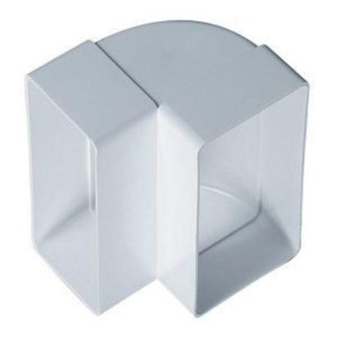 Колено вертикальное 150х75 мм пластиковое
