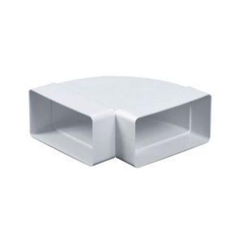 Колено горизонтальное 150х75 мм пластиковое