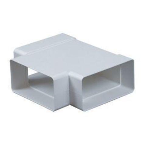 Тройник Т-образный 150х75 мм пластиковый