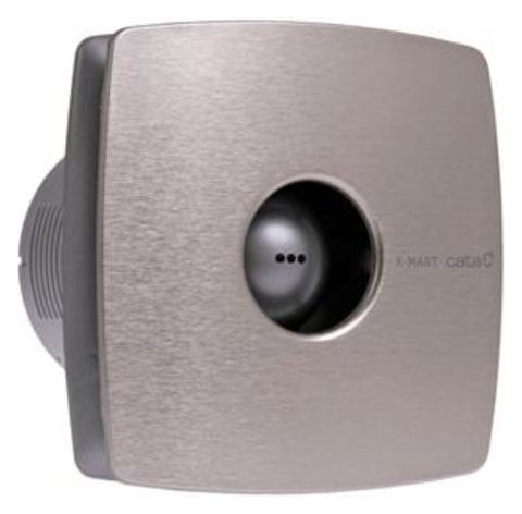 Вентилятор накладной Cata X-Mart 12 inox Hygro (таймер, датчик влажности)