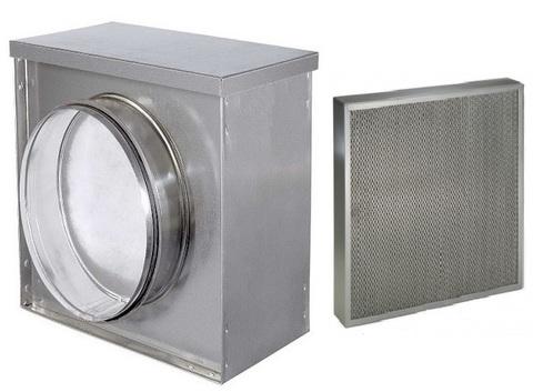 Жироулавливающий кассетный фильтр d 200 мм