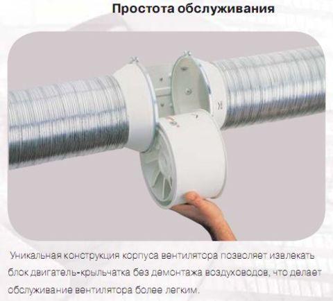 Вентилятор канальный S&P TD 160/100 N Silent