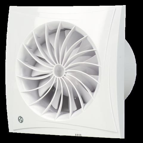 Вентилятор накладной Blauberg Sileo 100 S (шнурок вкл/выкл)