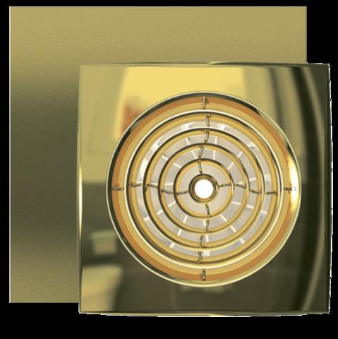 Вентилятор накладной Эра AURA 5C GOLD D125 с обратным клапаном