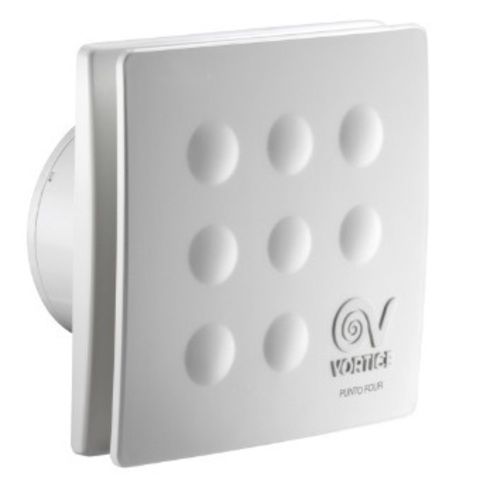 Вентилятор накладной Vortice Punto Four MFO 100/4 Т (таймер)