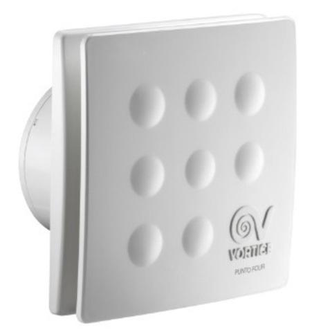 Вентилятор накладной Vortice Punto Four MFO 120/5 Т (таймер)