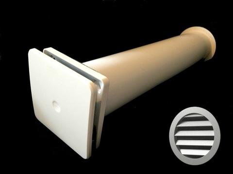 Клапан Инфильтрации Воздуха Airone КИВ К1 100 0,5м с антивандальной решеткой