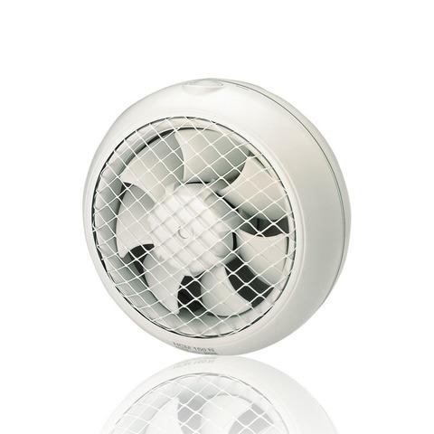 Вентилятор оконный S&P HCM 180 N с гравитационными жалюзи