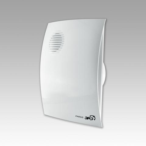 Вентилятор накладной Эра PARUS 5-02 D125 со шнурком вкл/выкл