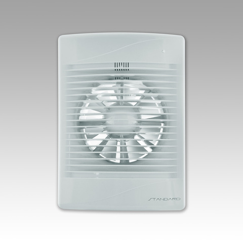 Вентилятор накладной Эра STANDARD 4C D100 с обратным клапаном