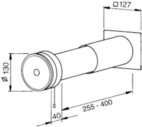 Приточный клапан Helios ZLA 80 (саморегулирующийся)