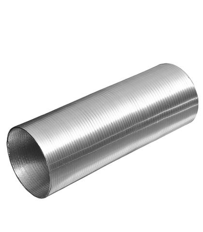 Канал алюминиевый гофрированный Компакт (1,5м) d=80